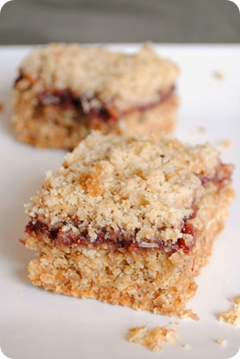 raspberry crumb bars 2